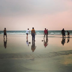 India Team in Goa
